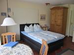 Doppelbett, Wohnung mieten, Urlaub Amrum